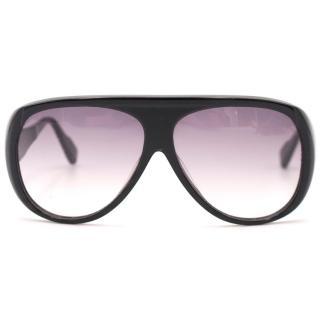 Dita Copious Black Aviator Sunglasses