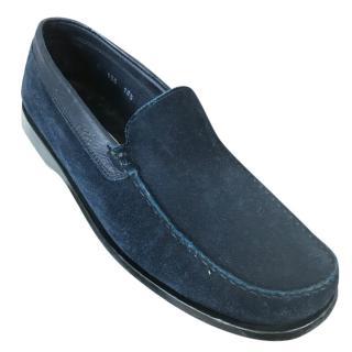 Ermenegildo Zegna Suede Loafers