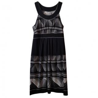 BCBG Max Azria Printed Midi Dress