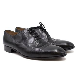 Artioli Men's Black Lace-up Brogues