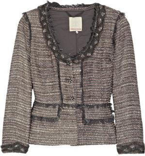 Rebecca Taylor Silk-Blend Tweed Jacket
