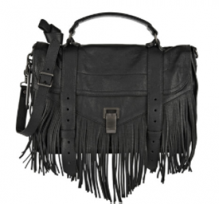 Proenza Schouler PS1 Fringe Satchel Bag