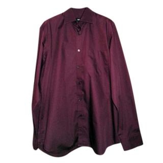 Boss Hugo Boss Men's Burgundy Shirt