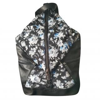 Jimmy Choo Fitzroy Flower Shantung Backpack