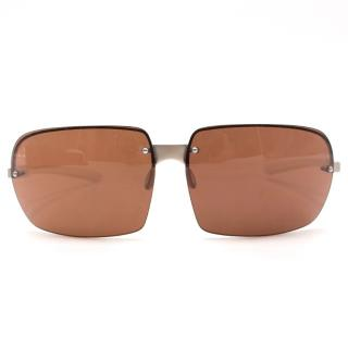 Prada Men's Square Sunglasses