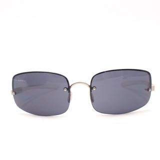 Prada Men's Frameless Sunglasses