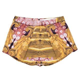 Katie Eary Printed Neoprene Shorts