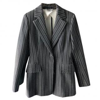 Sportmax Monochrome Longline Jacket