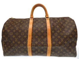 Louis Vuitton Keepall 55 Brown Monogram Boston Bag