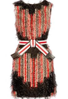 Fendi Printed fil coup� mini dress