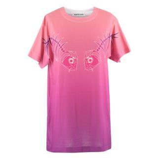 Katie Eary Purple Ombre T Shirt