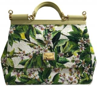 Dolce & Gabbana Miss Sicily Cloth Limited Edition Bag