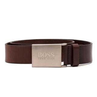 Boss Hugo Boss Brown Leather Belt