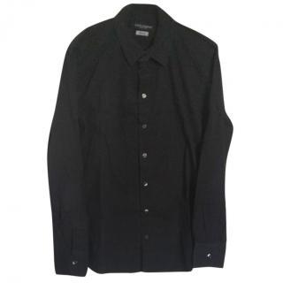 Dolce & Gabbana Men's Black Dress Shirt