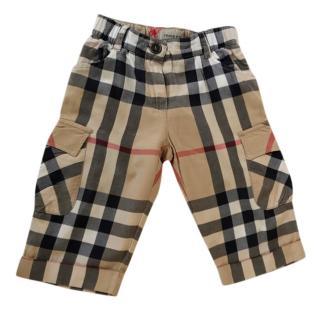 Burberry Boys cotton shorts