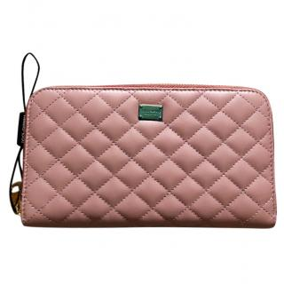 Dolce & Gabbana quilted leather wallet