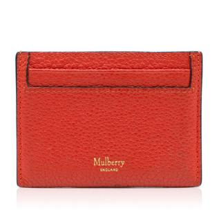 Mulberry Red Leather Cardholder
