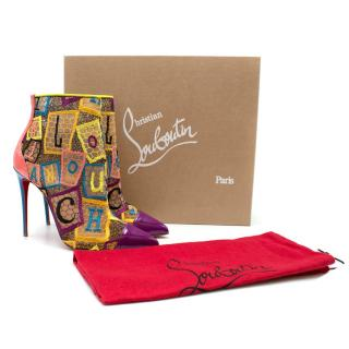 Christian Louboutin Current Gipsybootie Dentelle Alphaloubi Boot