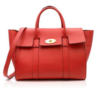 Mulberry Red Heritage Bayswater Bag