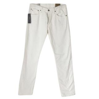 Polo Ralph Lauren Men's White Jeans