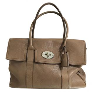 2ba081b468 Mulberry Brown Bayswater Top Handle Bag
