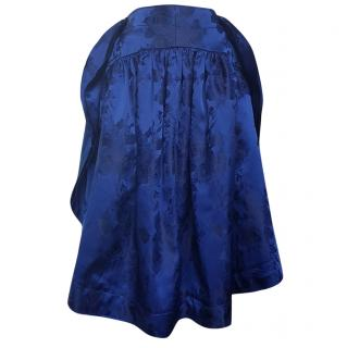 Comme des Garcons Blue Witches Collection Skirt