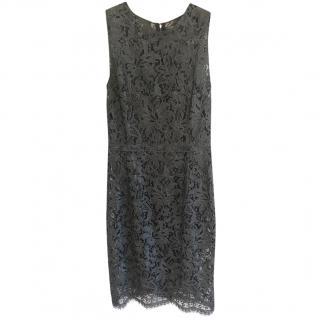 Dolce & Gabbana silk and lace dress