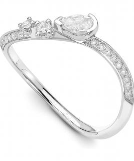 Audrey Savransky 18ct White Gold & Diamonds Ring