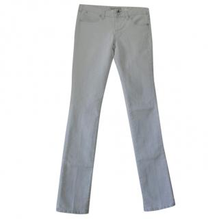 Karl Lagerfeld Pale Blue Classic Skinny Jeans