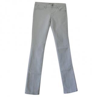 Karl Lagerfeld Pale Blue Classic Skinny Jeans