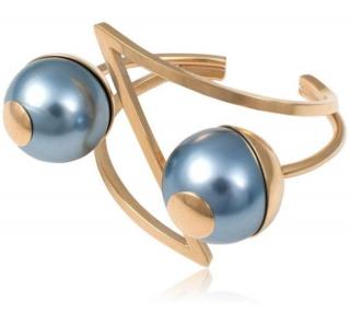 Leivankash Pearl Gold Cuff