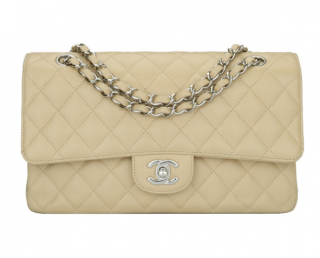 Chanel Caviar Leather Classic Double Flap Bag