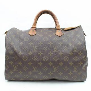 Louis Vuitton Speedy 35 Brown Monogram Hand Bag