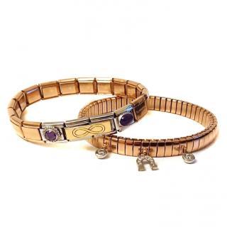 Nomination Rose Gold Charm Bracelets