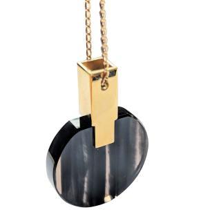 Marion Vidal Obsidian Necklace