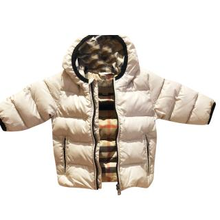 Burberry baby puffer jacket