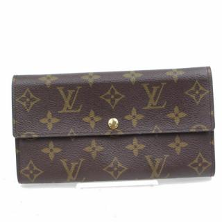 Louis Vuitton Portefeuille Sarah Brown Monogram Long Wallet