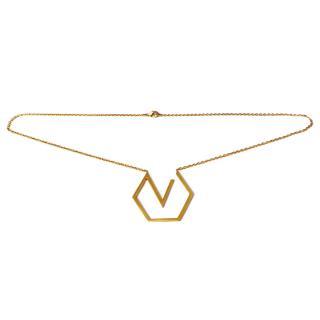 Charlotte Valkeniers Logo Necklace