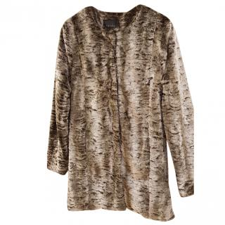 Gestuz tulipa faux fur coat