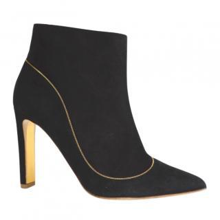Rupert Sanderson Armada Black Suede Boots