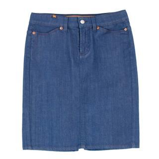 Notify Blue Denim Skirt