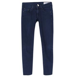 Rag & Bone Blue Skinny Jeans
