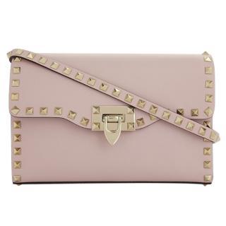 Valentino Pink Rockstud Crossbody Bag