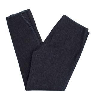 The Row Slim Fit Dark Denim Jeans