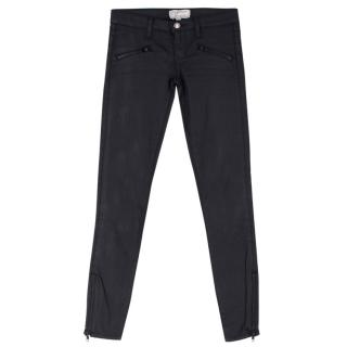 Current/Elliot The Soho Zip Stiletto Skinny Jean