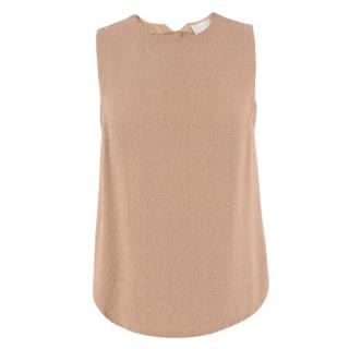 A.L.C. Brown Knit Tank Top