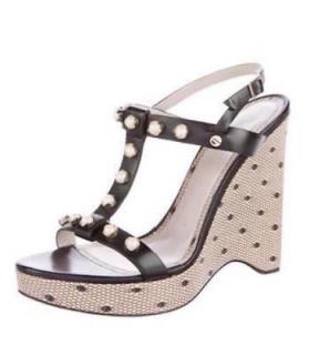 Jason Wu Pearl & Printed Lace Wedges