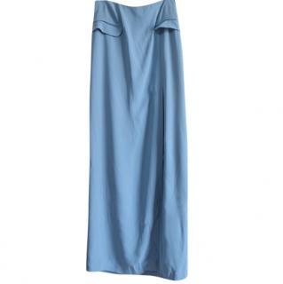 Temperley London blue maxi skirt