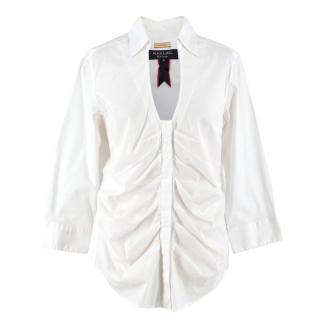 Paul Smith Black Label White Cotton Shirt