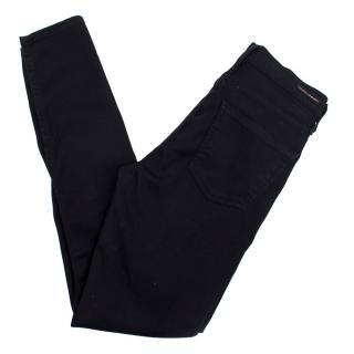 Citizens of Humanity Rocket High Rise All-black Skinny Jeans